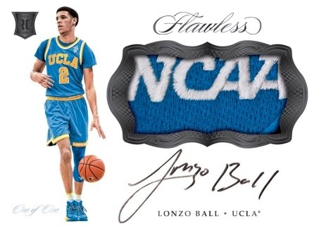 2017-18 Panini Flawless Collegiate Basketball 1 Briefcase Hit Random #2 PRICE DROP