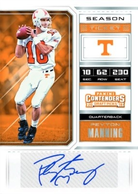2018 Panini Contenders Draft Picks Football Keep your Pack/Auto win a Box WAAARRR! 4/20 release