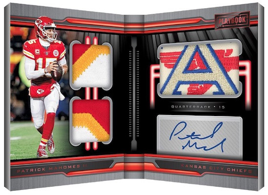 2019 Panini Playbook Football 1 Box Random Divisions - 1 Hitless Division Gets 1 In Break  #22