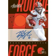 2018 Panini Absolute Football 10 Box Full Case Break #4 - 9/7 Release