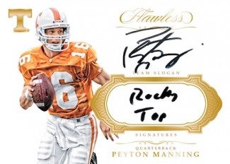 2017 Flawless Collegiate Football Briefcase Hit Random #3