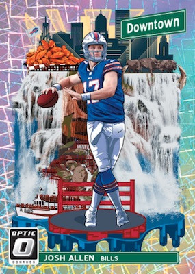 2018 Panini Donruss Optic Football 4 Box Random Divisions #2 - 1 Hitless Division Gets a Box