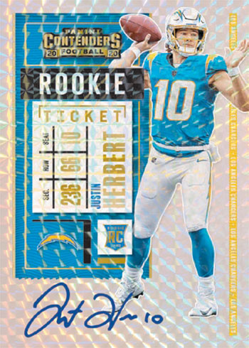 PRICE DROP - 2020 Panini Contenders Football 3 Box Break PYT #7 HOBBY DIRECT - Chargers Random! + $100 Hitless Giveaway!